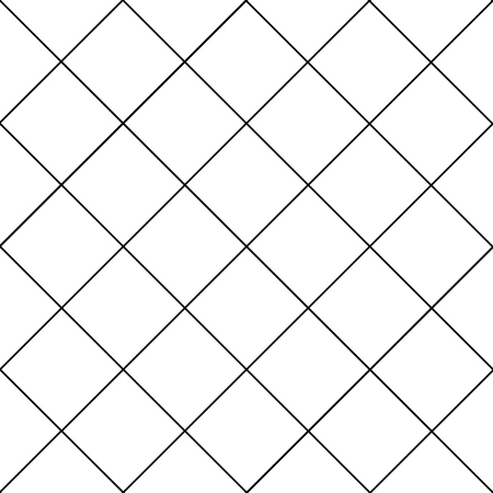 Black Grid White Diamond Background Vector Illustration