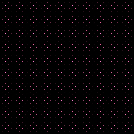 pink and black: Pink Dots Black Background Vector Illustration