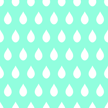 aqua background: White Rain Green Mint Background Vector Illustration