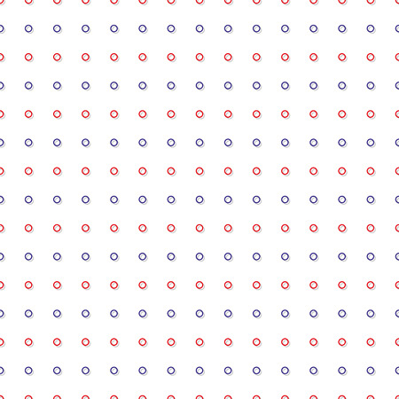 Red Blue Tiny Circle Abstract White Background Vector Illustration Vectores
