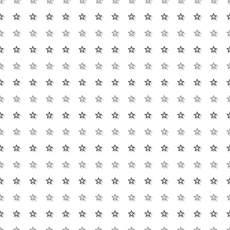 Gray Black Tiny Star Abstract White Background Vector Illustration
