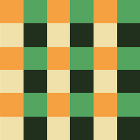 chess board: Orange Green Chess Board Background