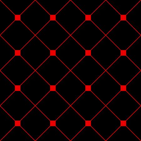grid black background: Red Square Diamond Grid Black Background. Classic Minimal Pattern Texture Background. Illustration Illustration