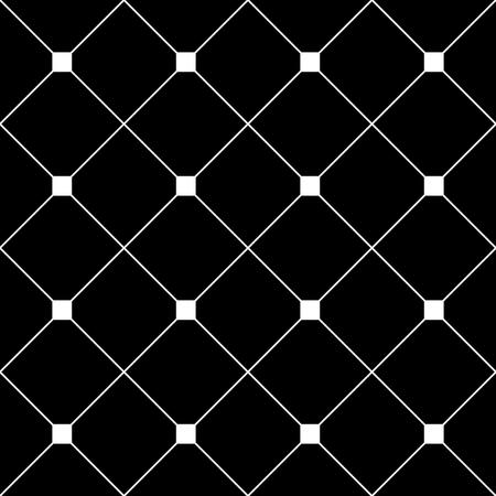grid black background: White Square Diamond Grid Black Background. Classic Minimal Pattern Texture Background. Illustration