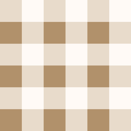 Iced Coffee Brown White Chessboard Background Vector Illustration
