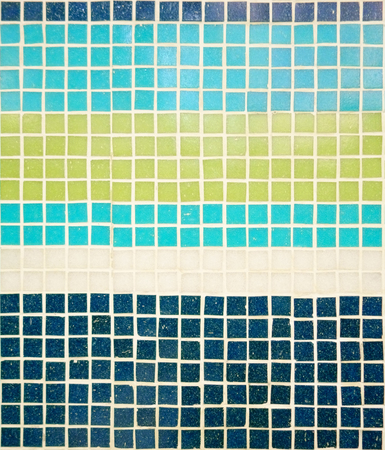 navy blue background: Navy Blue, Sky Blue, Light Green and White Tiles Background, Colorful Tiles,Mosaic Background.