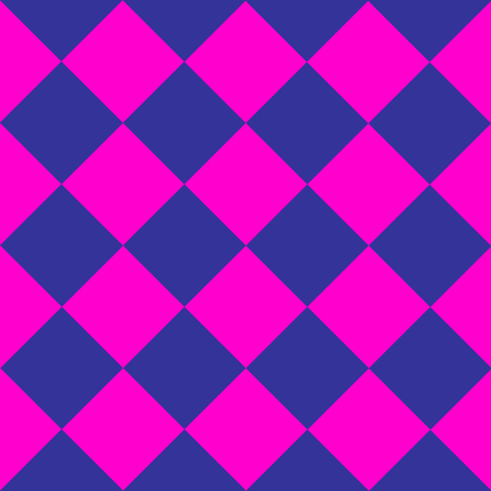 chequer: Cosmos Purple Blue Pink Chess Board Diamond Background Vector Illustration Illustration