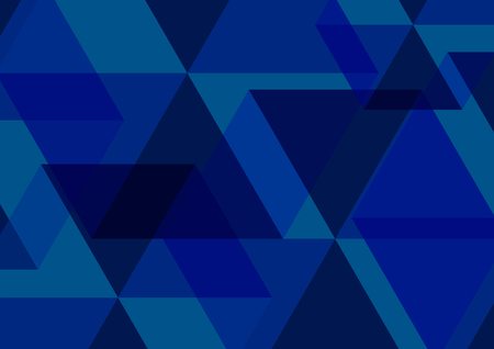 Blue Abstract Background. Vector Illustration.