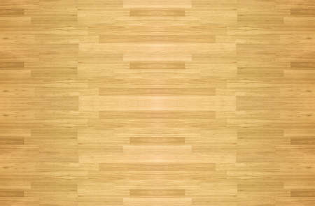Maple hardwood basketball floor pattern as viewed from above.