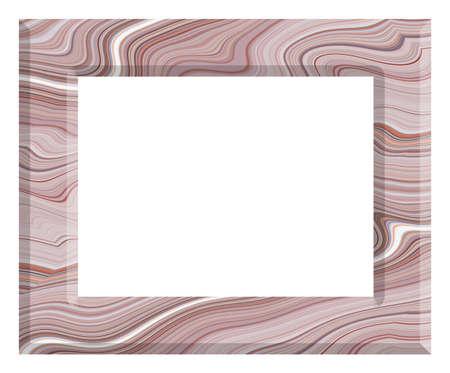 frame vintage isolated on white background. Imagens