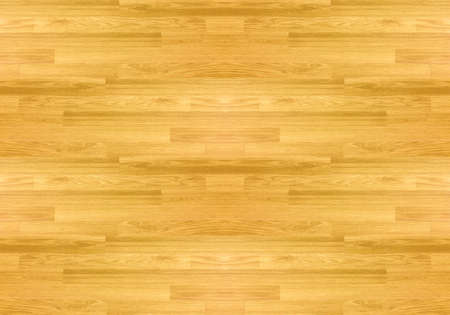 Hardwood maple basketball court floor viewed from above. Фото со стока - 122673216