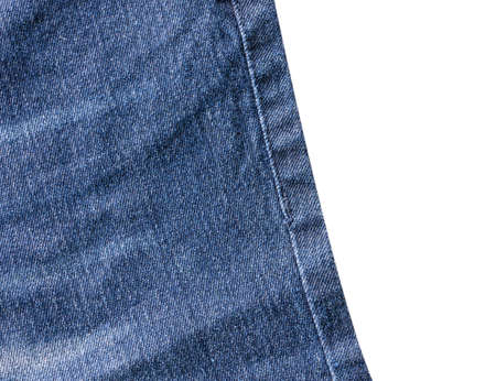 jeans isolated on white background.