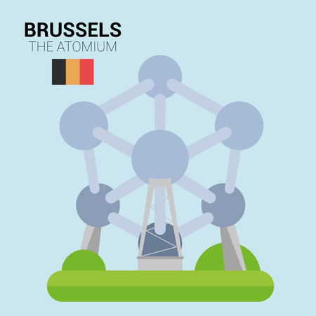 Monuments and landmarks Vector Collection: The Atomium.