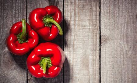 Raw Organic Sweet Peppers Ready to Eat Reklamní fotografie