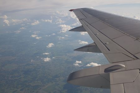 View from airplane photo