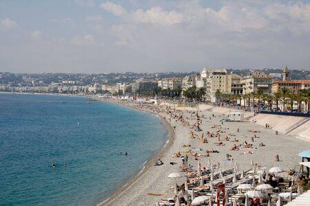 vacance: Nizza spiaggia