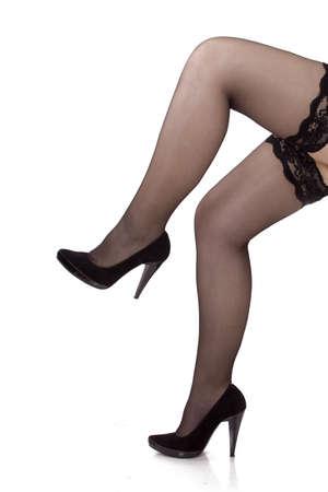 Woman legs Stock Photo - 9576070