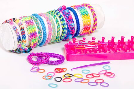 fishtail: loom bands
