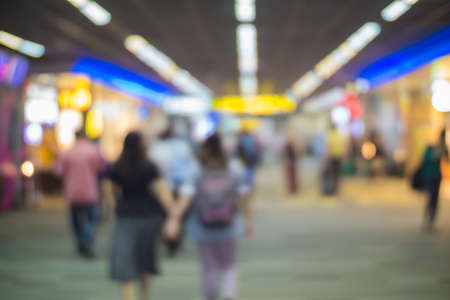 Blur of airport background. photo