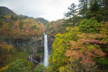 dreary: Kegon Falls in NIkko, Japan.