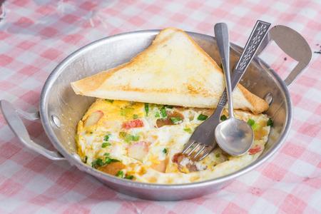 benedict: Egg Benedict in dish