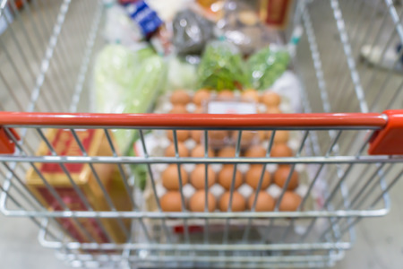 tiefe: Abstract background of Supermarkets, shallow depth of focus.