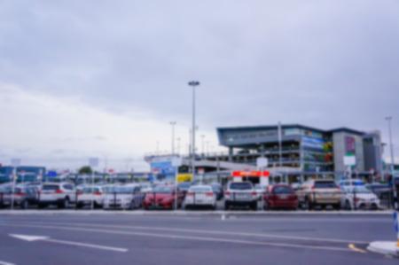 unscharfen Hintergrund der Christchurch in Christchurch, Neuseeland.