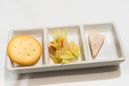 Food hors doeuvres in Japanese restaurant