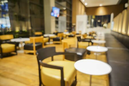 light duty: Blur or Defocus image of Coffee Shop or Cafeteria ,Customer at restaurant blur background with bokeh for use as Background