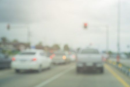 jams: Blurred background of  Traffic jams in the city - rush hour,cars in a tourist traffic jam,vintage color.