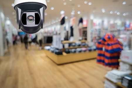 Closed-circuit television,Security CCTV camera or surveillance system in office building ,use video cameras transmit a signal to a specific place