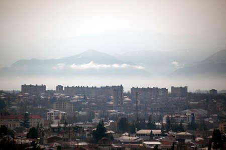 kutaisi: View of Kutaisi, the second largest city and the legislative capital of Georgia.