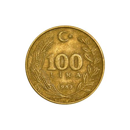 100_Lira_Tail_1989 Zdjęcie Seryjne