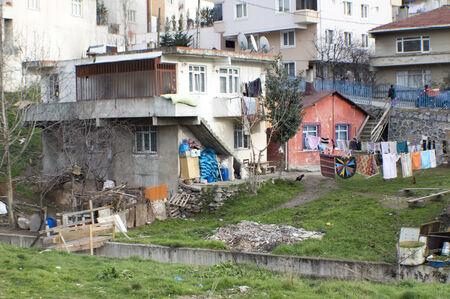 urban sprawl: Squatter