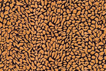 seamless orange and black fabric texture beautiful pattern