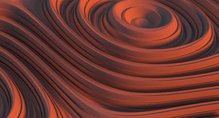 smooth abstract texture background 3d illustration Stock Photo