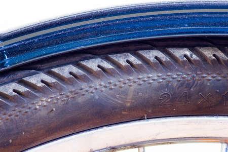 bicycle wheel tyre close-up Stok Fotoğraf