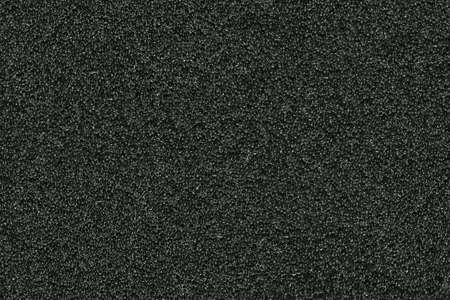 rubber sheet: seamless texture of black sponge from as a background