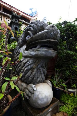 adult vietnam: Buddhist monastery in Dalat Vietnam