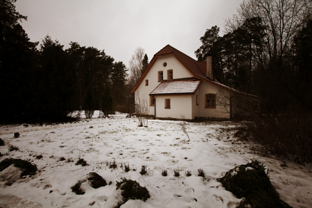 Haunted House  Banque d'images