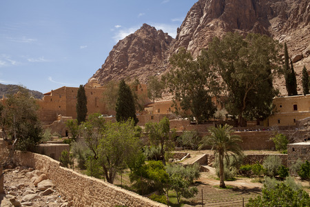 Monastery of St Catherine In Sinai, Egypt photo