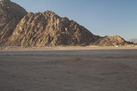 monte sinai: Monte Sinaí en Egipto Foto de archivo