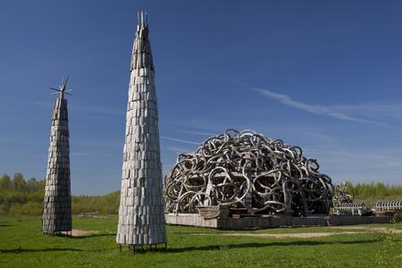 wooden architecture 写真素材