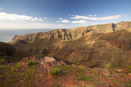 Los Roques the rocks La-Gomera, Canary Islands, Spain 写真素材
