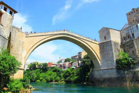 Old bridge in Mostar, Bosnia and Herzegovina