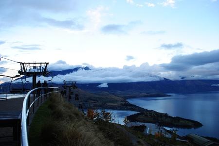 newzealand: Queen Town Newzealand Stock Photo