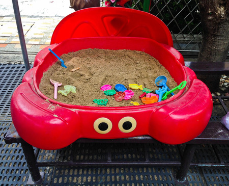 Kids sandbox give children a fun, place to play with kids.