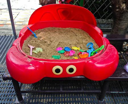 mementos: Kids sandbox give children a fun, place to play with kids.