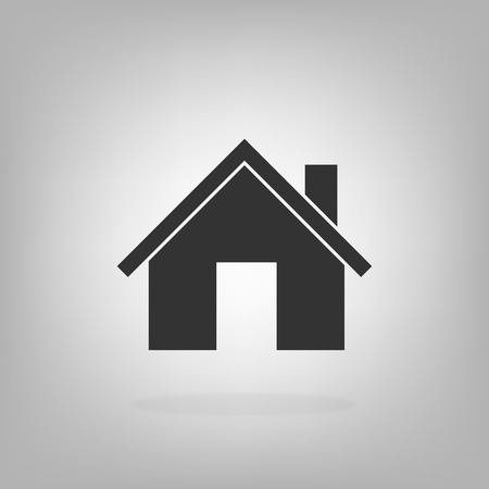 Home house icon vector illustration real estate concept for graphic design, logo, web site, social media, mobile app, ui
