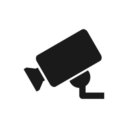 Security camera vector icon for graphic design, web site, social media, mobile app, ui